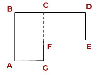 Г-образная комната